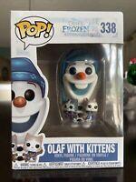 Funko POP! Disney: Frozen Olaf With Kittens #338