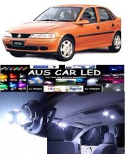 Holden Vectra 99-00 White LED Interior Light upgrade Kit (5pce)