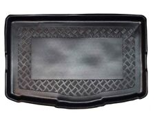 Riffelblech Design Kofferraumwanne für Nissan Qashqai 2 J11 2014- Boden tief