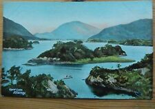 Ireland Postcard Showing, The Islands, Upper Lake, Killarney -Lawrence