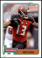 2015 Topps 60th Anniversary 5X7 Mike Evans #/99