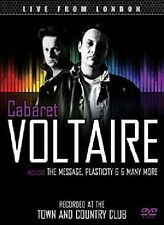 Cabaret voltaire-Live from London DVD NEUF