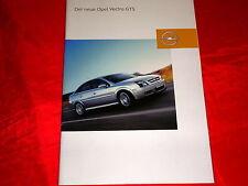 OPEL Vectra C GTS 1.8 2.2 3.2 V6 2.2 DTI Prospekt Brochure von 2002