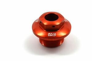 Works Connection Steering Stem Nut KTM/Husqvarna (Orange) 24-380