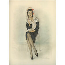 Print - Edouard Chimot: Andalouse - Ready to frame