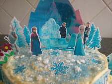 Frozen Princess Castle Cake Edible Decorations Party Ideas Girls Birthday Cake