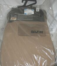 2004 TO 2007 BMW 525i/530i Carpeted Floor Mats - FACTORY OEM ACCESSORIES - BEIGE