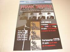 FRANK SINATRA PLATINIUM COLLEC!!!!RARE FRENCH PRESS/KIT