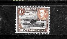 Kenya, Uganda & Tanzania Sc #54a Mnh-Mint Old Shilling Definitive Stamp