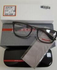 New Prada Sport Linea Rossa Eyeglass Frames PS 06LV VYY1O1 Brown Rubber 55mm