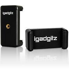 Adaptateur Support Pince Clip Smartphone Universel pour Trépieds et Selfie Stick