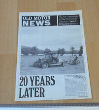 Old Motor Newspaper No 50