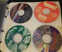 Huge PC CD ROM Lot 80+ Slot Machine Games Hoyle Casino Mahjong Casino Game