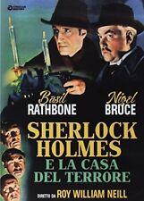 Sherlock Holmes E La Casa Del Terrore DVD TV1185 GOLEM VIDEO