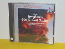 CD - MOZART-SYMPHONY NO. 40 IN G MINOR K550 & NO. 41 IN C MAJOR K551-HARNONCOURT