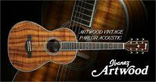 IBANEZ AVNK14LTD-NT All Koa Limited Edition Parlor Akustikgitarre incl. Koffer