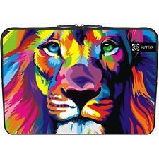 """1461 - Housse Neoprene PC Ordinateur Portable Netbook 11.6"""" pouces - Dessin Lion"""