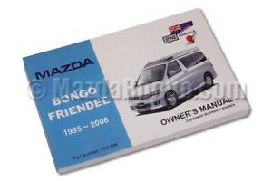 Mazda Bongo Handbook Petrol & Diesel - All Models - 1995 onwards