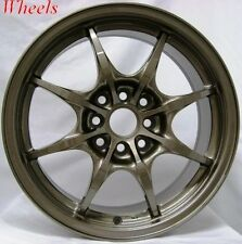 16X7 ROTA CIRCUIT 8 WHEELS 4X100/114.3 RIMS FITS 4 LUG CIVIC CRX INTEGRA DEL SO