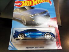 Hw Hot Wheels 2018 Hw Then And Now #6/10 Nissan Skyline Gt-R R33 Hotwheels Vhtf