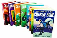 Jenny Nimmo Charlie Bone 8 Books Collection New Time Twister, Castle of Mirrors