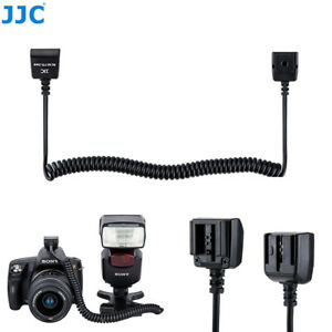 1.4m TTL Off-Camera Flash Sync Cord Cable for Sony A900 A700 A350 A300 A77 NEX-7