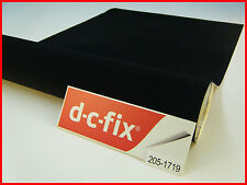 DC FIX Velour Black Felt 1m x 45cm Sticky Back Self Adhesive Vinyl Contact Paper