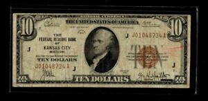 1929 Federal Reserve $10 Series of 1929 National Currency