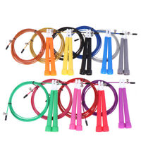 Aerobic exercise boxing skipping jump rope adjustable bearing speed fitness HU