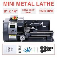 8�x14� Mini Metal Lathe Metalworking Woodworking 600W Motor W/5 Turning Tools