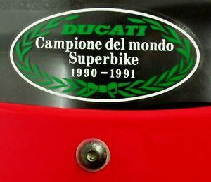 DUCATI 851-888-900SS   CAMPIONE DEL MONDO 90/91 SCREEN FRONT LOCATION