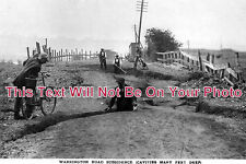 CH 73 - Warrington Road Subsidence, Northwich, Cheshire - 6x4 Photo