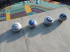 Vintage tourbillon bleu/noir/marron/blanc Levier de vitesse Shift Knob FORD ESCORT Choix de 4