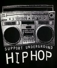 underground hip hop t shirt large