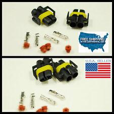 2PCS H11 H8 Female Connector HID Socket Plug Adapter MOTORCYCLE DUCATI 1198 848