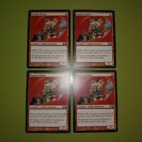 Raging Goblin x4 Magic 2010 M10 4x Playset Magic the Gathering MTG
