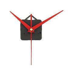 DIY Red Wall Clock Quartz Movement Mechanism Battery Operated Repair Part Kit