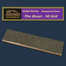 "KME Sharpening System- Gold Series ""The Beast"" 50-Grit Diamond Hone"