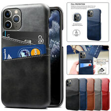 For iPhone 13 12 Mini 11 Pro Max XS XR SE 8 Plus Case Leather Wallet Card Cover
