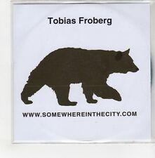 (GO683) Tobias Froberg, Somewhere In The City - 2006 DJ CD
