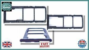 for HUAWEI Y7 Prime LDN-L21 2018 Micro SD Dual SIM Card Tray Holder BLACK