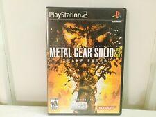 Metal Gear Solid 3 Snake Eater (PlayStation 2)