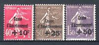 "FRANCE STAMP TIMBRE N° 266/68 "" SEMEUSE 4ème SERIE C.A.1930 "" NEUF xx TTB P637"