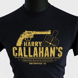 Harry Callahan Gun Club T Shirt Dirty Harry Retro Movie Clint Eastwood Magnum Bk
