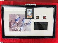 Enos Slaughter - The Dash Home StL Cardinals - Autographed- JSA Cert - Framed