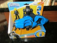 Imaginext Super Friends Fisher Price Nightwing Transforming Cycle Black Canary