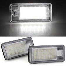 2x License Plate Illumination LED Ü8 3528SMD White for Audi A3/S3 B3D2 H8P A3U4