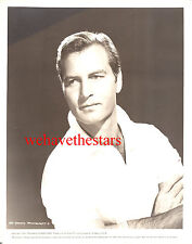 Vintage George Montgomery QUITE HANDSOME SEXY HUNK HAIRY CHEST '53 Pub Portrait