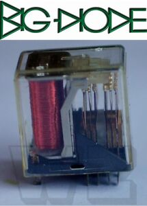 1 x V23154D0720C410 Siemens electromagnetic relay 4PDT Ucoil 20VDC 2A miniatu