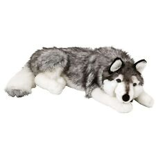Siberian Husky Stuffed Animal Plush Dog Cuddly Toy Kids 70cm Soft Pet Teddy
